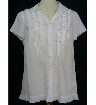 Jigsaw - Size: 10 - White - Top