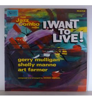 "The Jazz Combo From ""I Want To Live!"" - Gerry Mulligan, Shelly Manne, Art Farmer - ULP 1103"