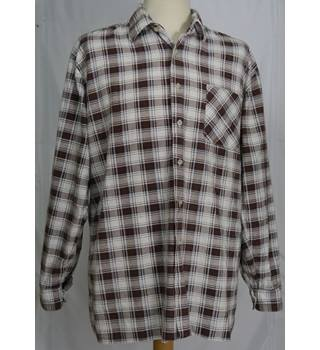 Vintage C&A - Size: XXL - Checked - Shirt