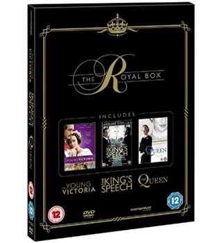 THE KING'S SPEECH/THE QUEEN/THE YOUNG VICTORIA 12