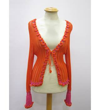 Karen Millen - Size: S - Orange - Shrug
