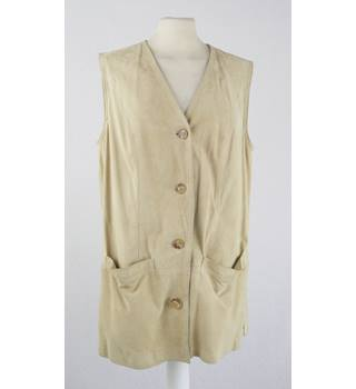 Unbranded - Size: 16 - Cream / ivory - Vest