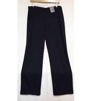 BNWT size 14 short Marks and Spencer straight leg trousers M&S Marks & Spencer - Size: M - Blue - Trousers