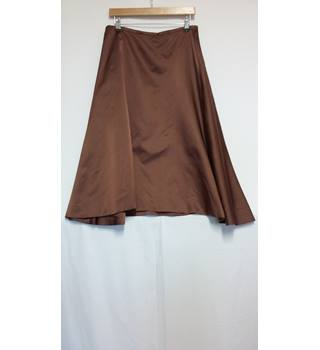 monsoon size 14 aline skirt Monsoon - Size: 14 - Brown - A-line skirt