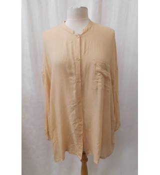 American Vintage - Size: M/L - Peach - Long sleeved blouse