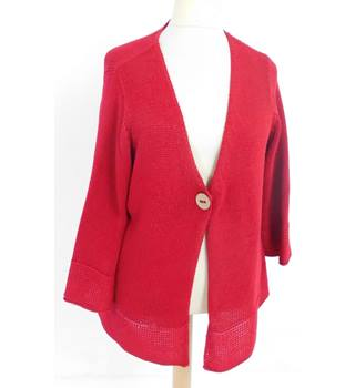 M&S Size 22 Red Cardigan