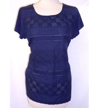 Retro BHS Authentic - Size: 18 - Midnight Blue - Top