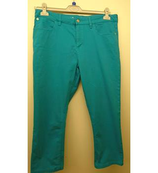 "M&S Marks & Spencer - Size: 42"" - Blue - Cropped jeans (L4)"