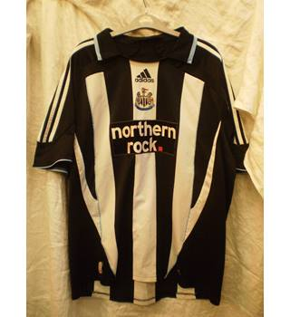 2007-09 NUFC Home Shirt by Adidas