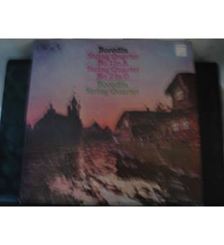 Borodin String Quartets 1 in A and 2 in D- Vinyl LP