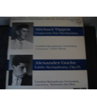 Tippett-Concerto for orchestra/ Goehr -Little Symphony- Vinyl LP