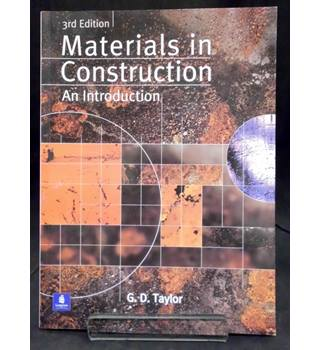 Materials in Construction - An Introduction