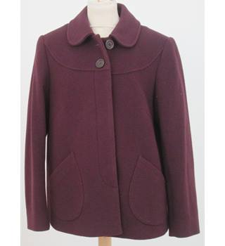 Paul Costelloe Dressage Size 12 Purple wool mix jacket
