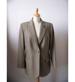 Sam's Tailor - Size: L - Beige - Smart single-breasted jacket / coat