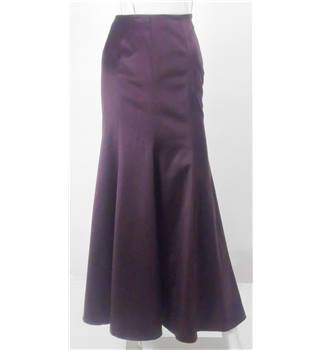 Coast - Size 10 - Plum/purple ankle length skirt