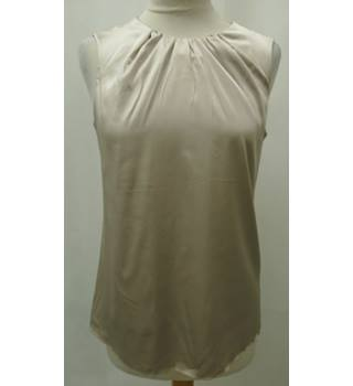 EMPORIO ARMANI - Size: 38 - Grey - Sleeveless top - Silk