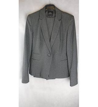 NEXT SUIT JACKET AND TROUSERS, SIZE 12R Next - Size: 12 - Grey - 3 piece trouser suit