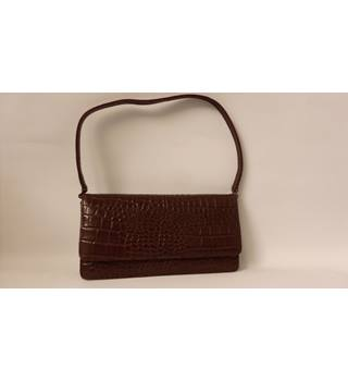 DEBENHAMS MOC CROC SMALL BAG