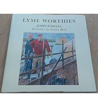 Lyme Worthies, John Fowles, Portraits by Gavin Bird
