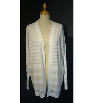M&S Marks & Spencer - Size: XL - White - Cardigan