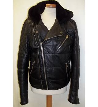 The Kooples - Size: M - Black - Casual jacket - Leather