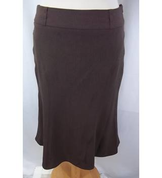 Dorothy Perkins - Size: 8 - Brown Skirt