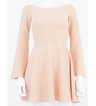 BNWT Oh My Love Size XS Ballerina Pink Mini Rib Skater Dress