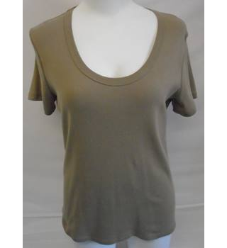 REDUCED M&S Woman - Size: 16 - Brown - T-Shirt