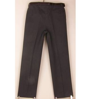 "St Michael - Size: 36"" - Grey - Trousers"