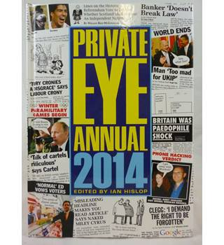 Private Eye Annual 2014 - Signed