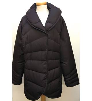 Brax - Size: L - Brown - Quilted jacket/coat