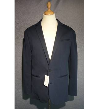 BNWT ASOS - Size: S - Navy- Cotton Jacket