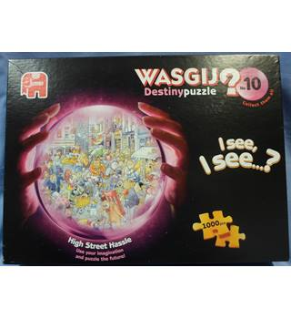 "WASGIJ? 1000 pieces. Destiny puzzle No 10 ""High Street Hassle """