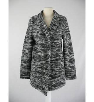 BNWT Marks & Spencer - Size: 8 - Grey - Open Front Coat