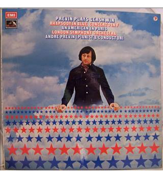 Previn plays & conducts Gershwin : Rhapsody Blue / American in Paris / Concerto - ASD 2754