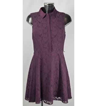 Oasis Dress - Purple - Size 12 Oasis - Size: 12 - Purple