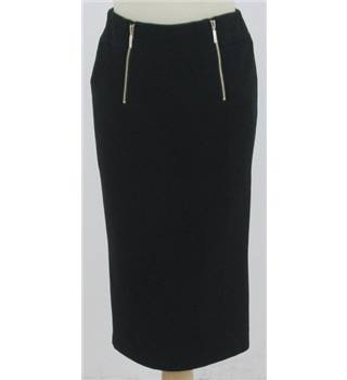 Per Una, size 8 black pencil skirt