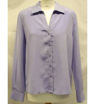 Eastex - Size: 12 - Purple - Long sleeved shirt