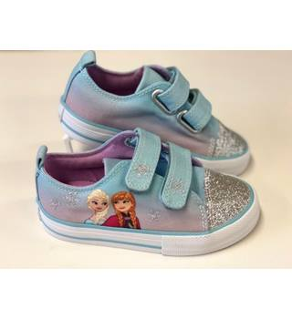 M&S Kids' Riptape Disney Frozen Trainers