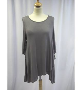 Wall - Size: L - Grey - Double Layer Top
