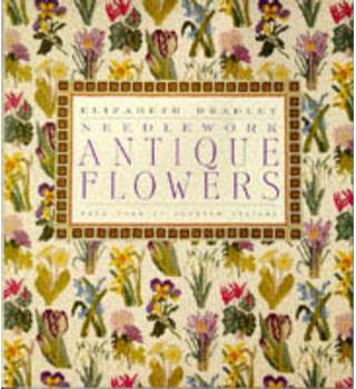 Antique Flowers in Needlework