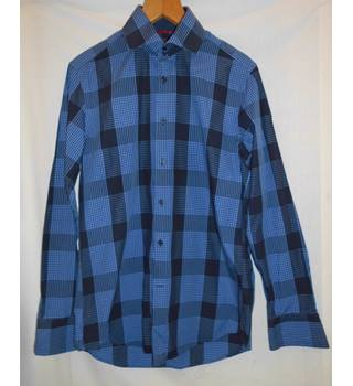 Hawes and Curtis - Size: M - Blue - Long sleeved
