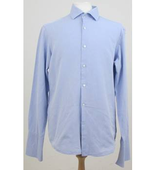 Hugo Boss size: M sky blue long sleeved shirt