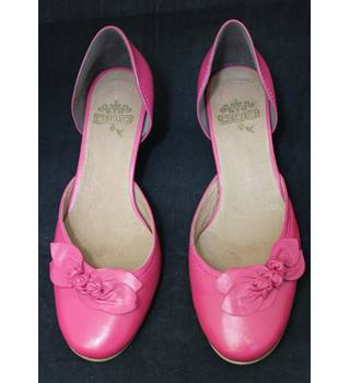 Duo - Size: 6 - Pink - Kitten heeled shoes