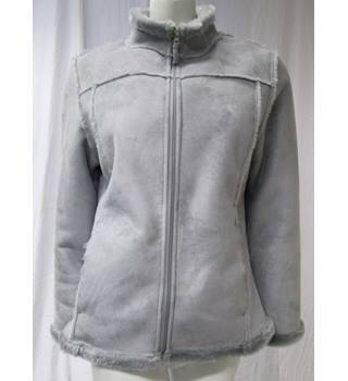 Tigi Wear Size 10/12 Soft Warm Jacket Tigi Wear - Size: 10 - Grey