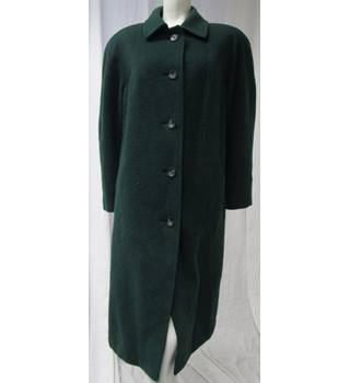 Eastex Size 18 Green Wool Coat Eastex - Size: 18 - Green