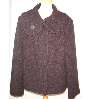 M&S Marks & Spencer - Size: 18 - Brown - Smart jacket / coat