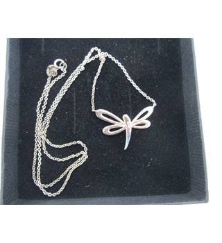 Dragonfly Necklace Unbranded - Size: Medium - Metallics