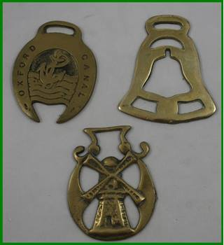 Horse Brasses - three pieces