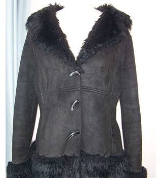 Papaya - Size: 16 - Black - Casual jacket / coat